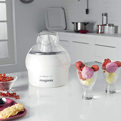 Magimix 11047 Le Glacier Ice Cream Maker, Non-stick, 1.1 liters, White - £25.94 @ Amazon