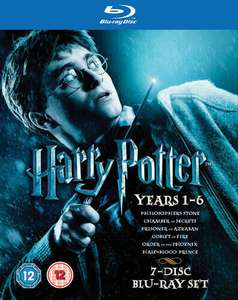 Harry Potter 1-6 Blu-Ray (used) - £8.09 delivered @ Music Magpie