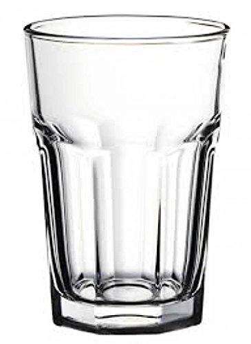 Pasabahce Casablanca Set Tall Glasses, Glass, Transparent, 36 cl, Set of 12 - £11.62 prime / £16.11 non prime @ Amazon