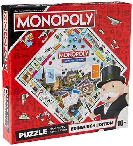 Monopoly 1000 Piece Jigsaw Puzzle Edinburgh Edition - £7.49 Prime / Huddersfield Edition £7.45 Prime / +£4.49 Non Prime at Amazon