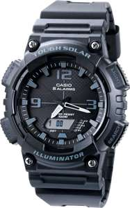 Mens Casio Collection Alarm Chronograph Solar Powered Watch, £29.99 (Free click and collect) at Argos