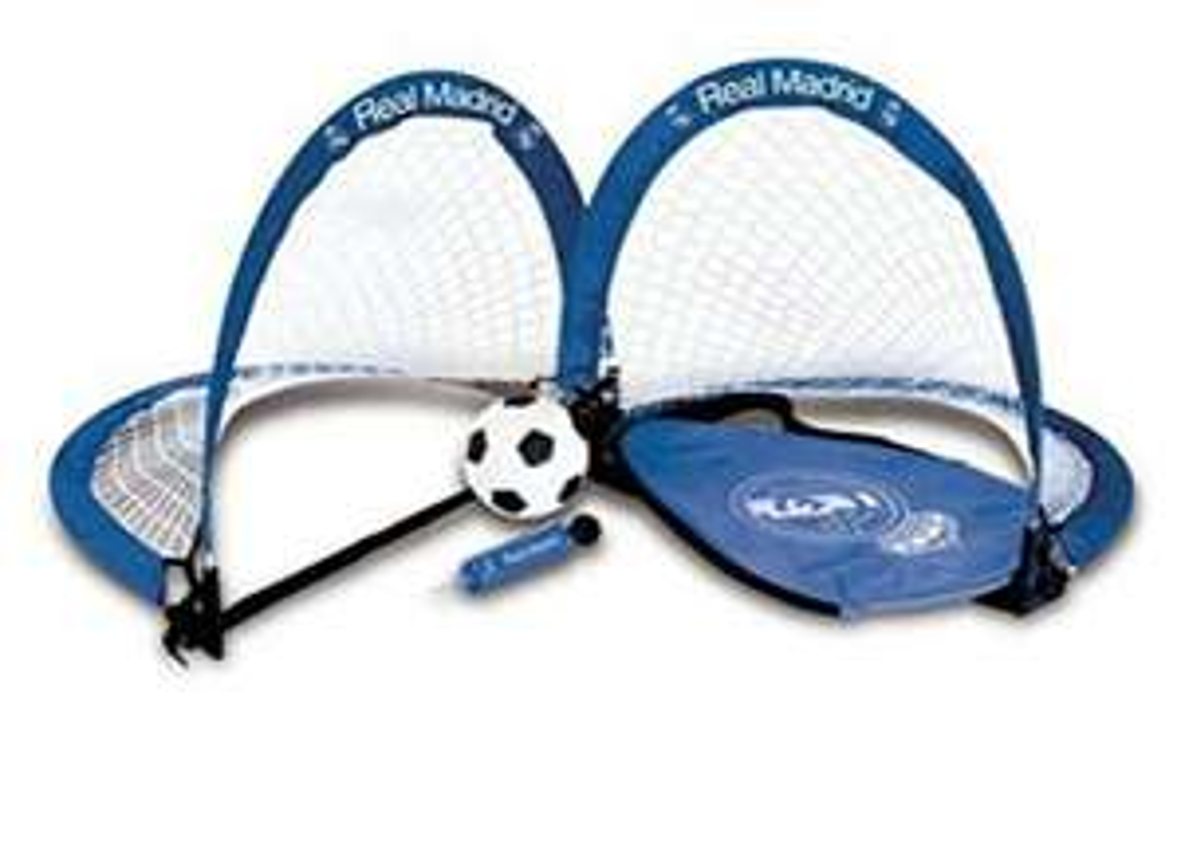 Real Madrid Kids' RM04457 Skills Goal Set, Multi-Colour £10.47 + £4.49 NP @ Amazon