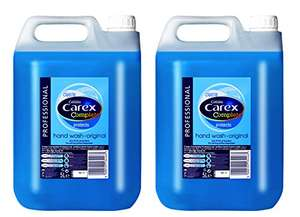 10 litres Carex £23.17 or £17.37 if use 10% voucher and have full subscribe and save discount @ Amazon