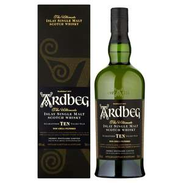 Ardbeg 10 Year Old Single Malt Islay Whisky £37 @ Sainsburys