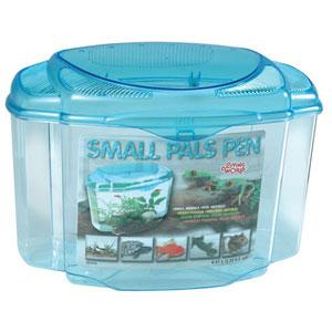 Living world Pals pen XL 17L plastic pet TRAVEL (not full size housing) fish /aquarium /tank - £6.79 + click & collect only @ Pets at Home