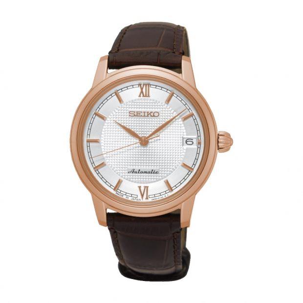 Seiko Presage Ladies Automatic Leather Strap Watch SRP858J1 £240 @ James-porter