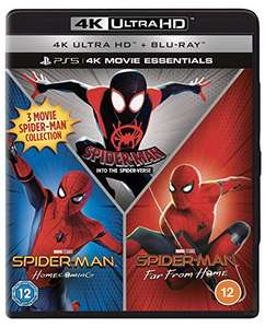 Spider-Man: Far from Home, Homecoming, Into the Spider-Verse - 3 Movie Set [4K UHD + Blu-ray] - £13.70 delivered (UK m/land) @ Amazon Italy