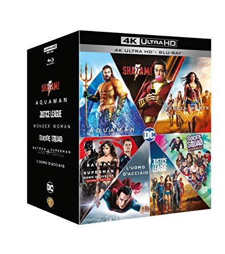 DC Comics 7 Film Boxset (4K Ultra HD + Blu-ray) £42.45 delivered (UK Mainland) @ Amazon Italy