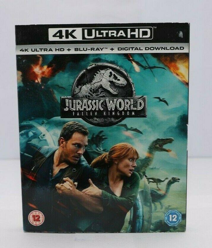 Jurassic World - Fallen Kingdom (4K Ultra HD + Blu-ray) £6.39 delivered @ hilina1985 / ebay