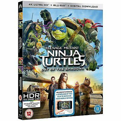 Teenage Mutant Ninja Turtles: Out of the Shadows (4K Ultra HD + Blu-ray) £5.50 delivered @ brdvddeals / ebay