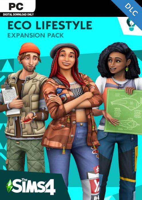 The Sims 4 - Eco Lifestyle PC £8.49 @ CDKeys