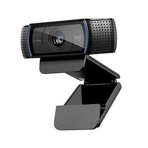 Logitech C920 HD Pro Webcam, Video Conferencing 1080P FULL HD 1080p / 30 fps, Stereo Sound £54.82 at Amazon Spain