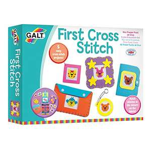 Galt Toys, First Cross Stitch, Embroidery Craft Kit for Children £5.29 (+£4.49 Non Prime) @ Amazon