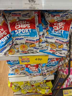 FISH N CHIPS 5 Pack 49p @ Home Bargains (Northwich)