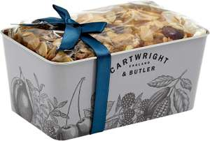 Cartwright & Butler Cherry and Almond Loaf Fruit Cake - £4.79 (+£4.49 Non-Prime) @ Amazon