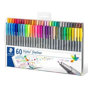 Staedtler 0.3mm fineliners - 60 pens for £19.15 Prime at Amazon (+£3.99 non Prime)