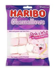 Pack of 12 Haribo Chamallows Marshmallow sweets £6.40 prime / £10.89 nonPrime / £6.08 subscribe & save at Amazon