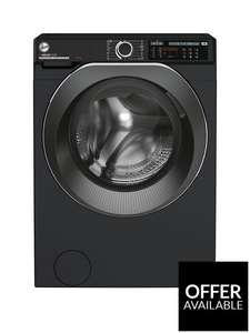 Hoover H-WASH 500 HW 410AMBCB/1-80 10kg Load 1400 Spin Washing Machine - Black £329 + £6.99 delivery at Very