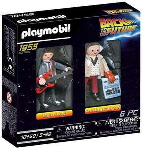 PLAYMOBIL 70459 Back to the Future Marty McFly and Dr. Emmett Brown - £4.44 (+£4.49 Non Prime) @ Amazon