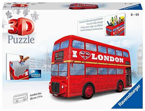 Ravensburger Red London Bus 216 Piece 3D Jigsaw Puzzle - £7.42 Prime / £11.91 Non Prime at Amazon