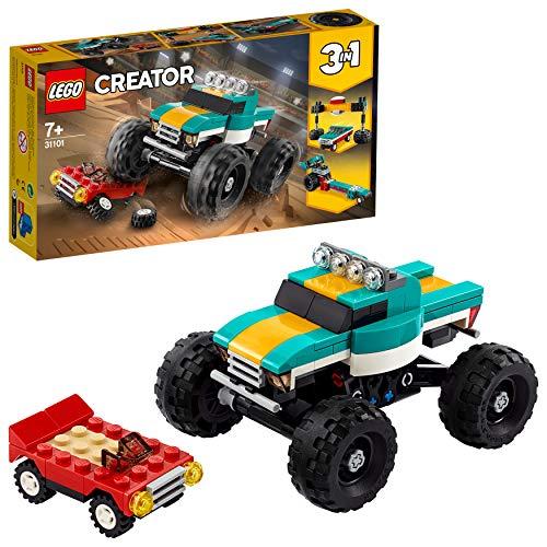 LEGO Creator 31101 3in1 Monster Truck £9 (Prime) + £4.49 (non Prime) at Amazon