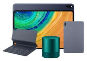 Huawei MatePad Pro 128GB LTE Tablet + 3 Freebies Including Speaker + £120 Cashback - £449.99 With Code (£329.99 With Cashback) @ Huawei