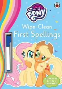 My Little Pony - Wipe-Clean First Spellings £1.68 (£2.99 p&p non prime) @ Amazon