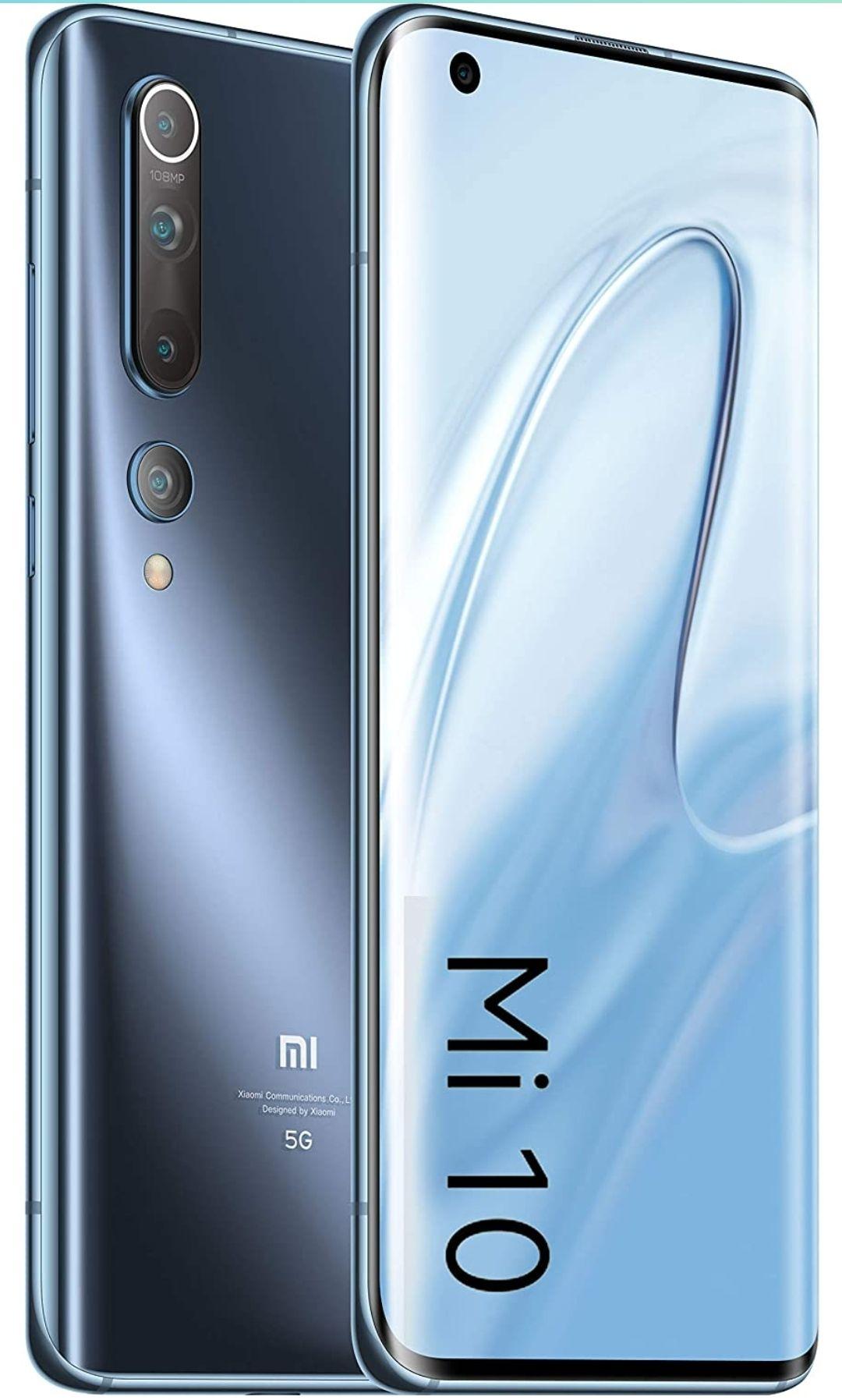 Xiaomi Mi 10 8GB/128GB Twilight Grey Smartphone (UK VERSION) - £424.10 @ Amazon
