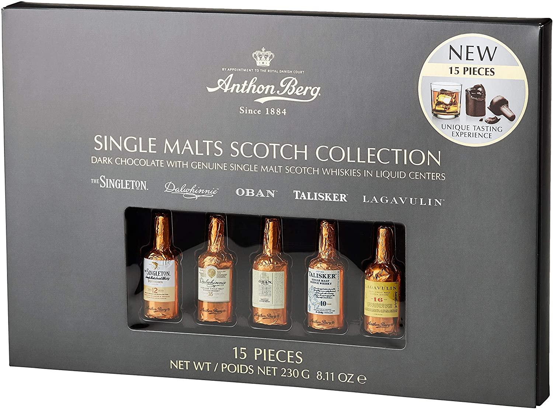 Anthon Berg whisky chocolate liqueurs - 15 bottles 230g - £5.80 prime / £10.29 nonPrime at Amazon