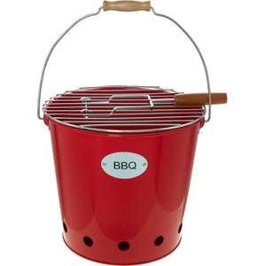 LEPICURE Red Barbecue Bucket £9.99 with £1.99 Click and collect From TK Maxx