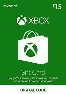 Xbox Gift Card Discounts - £15 for £12.89 / £20 for £16.52 / £25 for £20.83 using code @ Eneba / Ultimate Choice