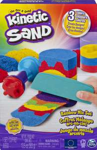 Kinetic Sand Rainbow Mix Set with 3 Colours £7.49 Prime (+£4.49 Non Prime) at Amazon