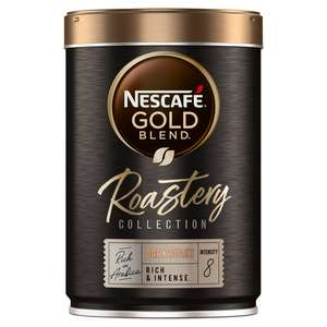 Nescafe Gold Blend Roastery Collection Dark Roast Instant Coffee 100g £2.50 at Sainsbury's