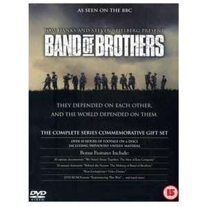 Band Of Brothers - Complete HBO Series Commemorative PreLoved Gift Set (6 Disc DVD Set) £3.59 (£3.23 New Users) Delivered @ World Of Books