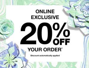 20% Off Entire Site No Minimum Spend, Plus Free Full Size Product With £55 Spend (Including Men's) - Free Delivery @ Clinique