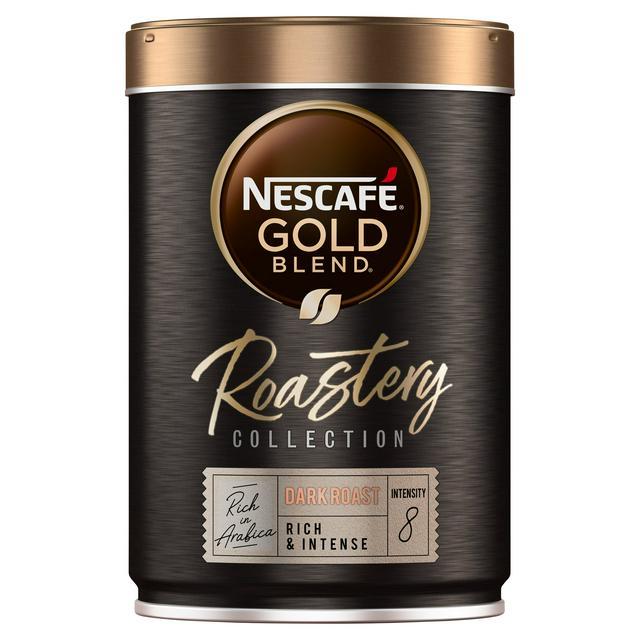 Nescafe Gold Blend Roastery Collection Dark Roast Instant Coffee 100g at Ocado - £2.50