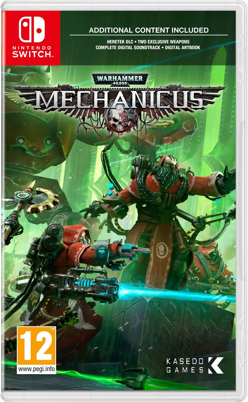Warhammer 40,000: Mechanicus (Nintendo Switch) NOW £14.85 at boss_deals ebay