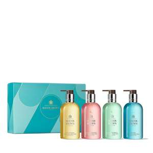 Molton Brown 4 Piece Hand Wash Collection with Gift Box £44.93 Delivered @ QVC (if new & not using easy pays get £5 off with FIVE4U)