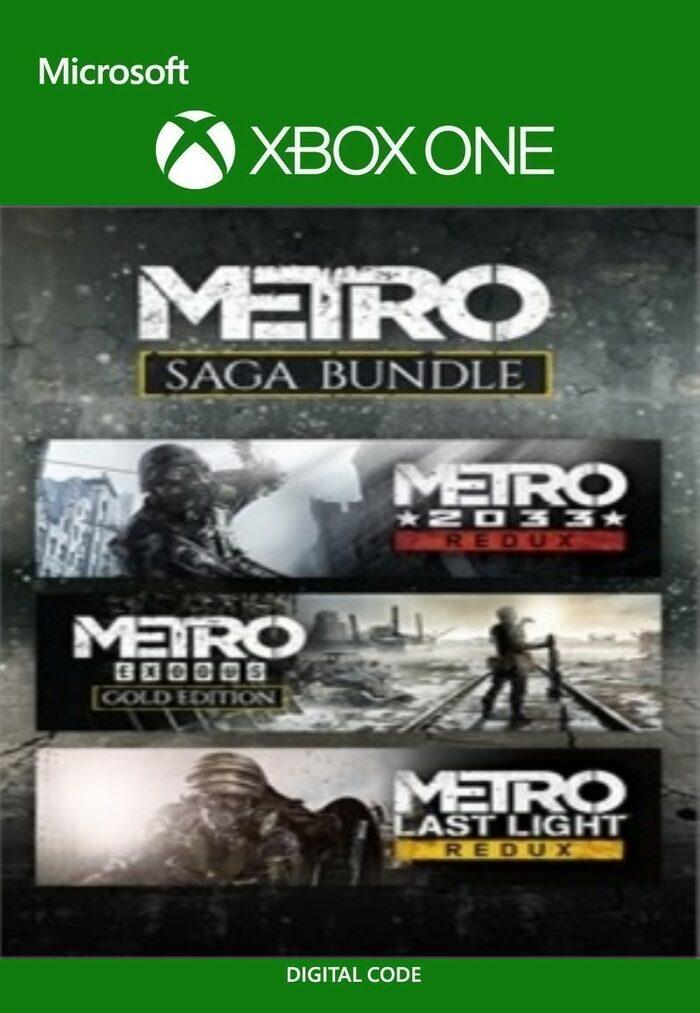 Metro Saga Bundle (Xbox One/Xbox Series X|S) £13.36 at Eneba MagicCodes