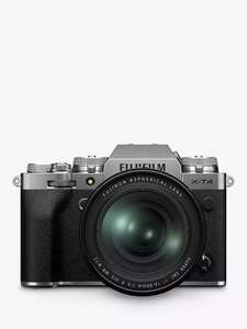 Fujifilm X-T4 Compact System Camera 16-80 Kit in Silver - Plus, £100 Gift Card £1,799 on selected purchases @ John Lewis & Partners