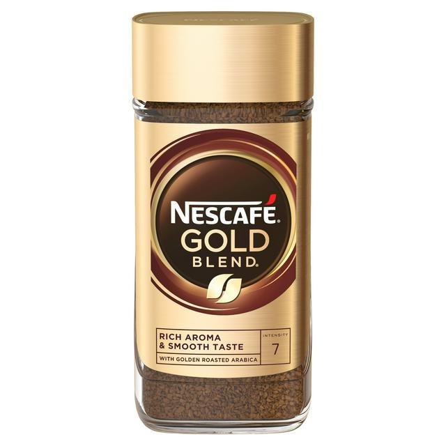 Nescafé Gold blend 100g instant coffee half price in-store £2.25 Farm Foods Bedford