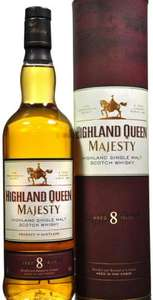 Highland Queen whisky, Aged 8 years £11 instore @ Asda, Roehampton
