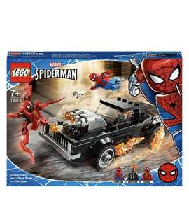 LEGO Marvel Spider-Man Ghost Rider & Carnage Toy 76173 £12.97 plus free C&C and 4.8% Quidco cash back @ George (Asda)