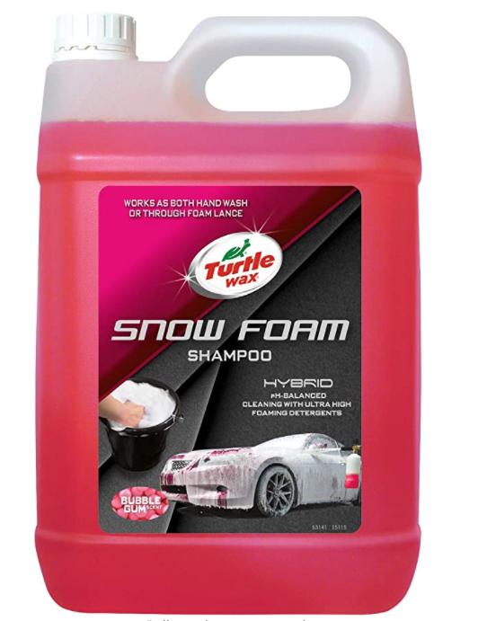 Turtle Wax 53141 Hybrid Snow Foam Ph Balanced Hand Wash Car Shampoo 2.5L £12 prime / £16.49 non prime @ Amazon