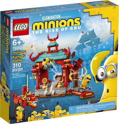 LEGO 75550 Minions Kung Fu Battle with Kevin, Stuart & Otto Minion Figures £18.79 @ Amazon