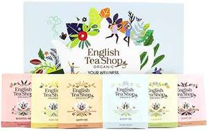 English Tea Shop Organic Your Wellness Collection Gift Pack - 48 Tea Bags Sachets - 6 Different Flavours £5.80 (+£4.99 Non Prime) @Amazon