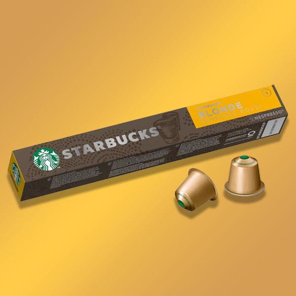120 x Starbucks Blonde Espresso Roast Coffee Nespresso Pods Best Before 23/06/2021 £15 (1 in stock) @ Yankee Bundles