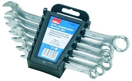 Hilka 17161002 Metric Combination Spanner Set, Set of 6 Pieces - £4.38 Prime (+ £4.49 Non Prime) @ Amazon