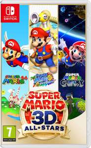 Super Mario 3D All-Stars (Nintendo Switch) - £31.97 with code (Free click & collect) @ Currys PC World