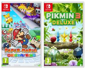 Paper Mario or Pikmin 3 Deluxe (Nintendo Switch) - £24.97 delivered @ Currys PC World